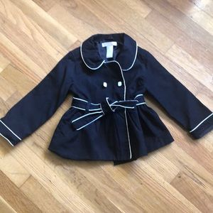 Other - Janie and jack Parisian park trench coat sz2t